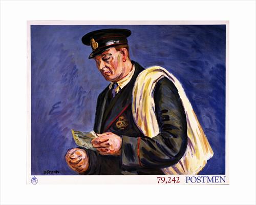 79,242 Postmen by Duncan Grant