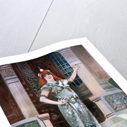 Sarah Bernhardt as Isolde by Nadar
