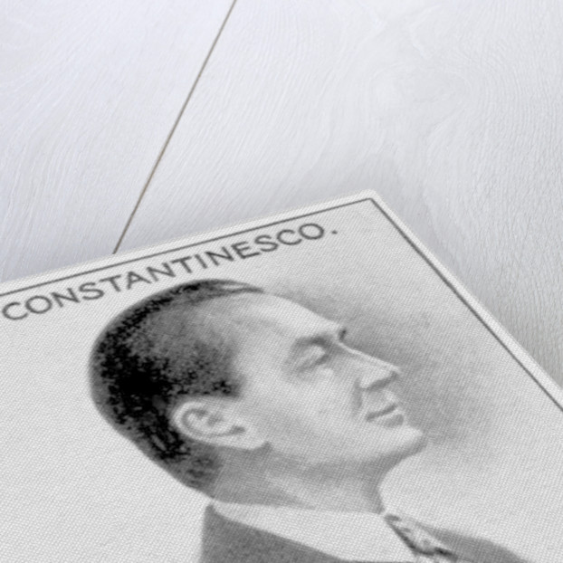 George Constantinescu, Romanian scientist, engineer and inventor by Anonymous