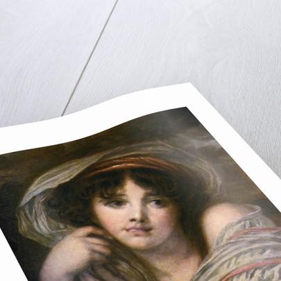 A Girl by Jean-Baptiste Greuze