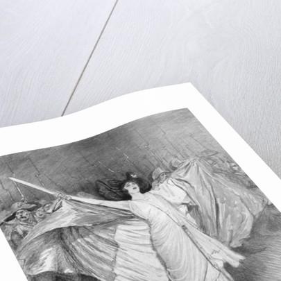 'La Marseillaise', L'Opera-Comique by Georges Bertin Scott
