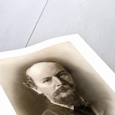 Algernon Charles Swinburne, Victorian era English poet by Elliott & Fry