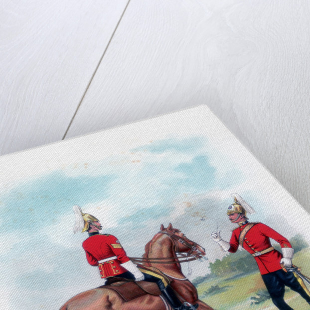 4th Dragoon Guards by LE Buckell