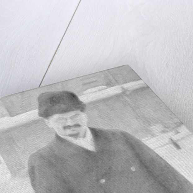 Leon Trotsky at Brest-Litovsk, 7th January 1918 by Anonymous
