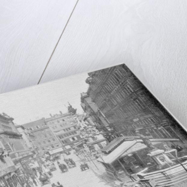 The Graben, Vienna by John L Stoddard