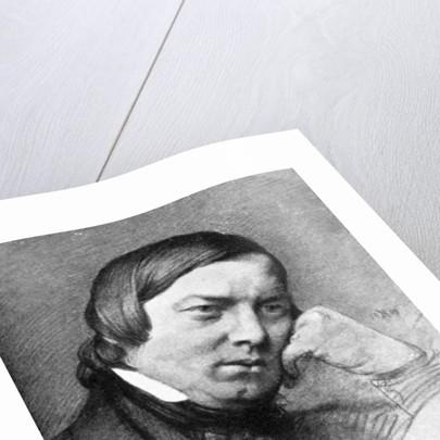 Robert Schumann, (1810-1856), German composer and pianist by Robert Schumann