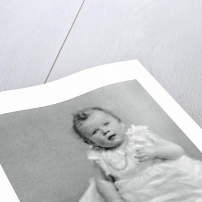 Princess Elizabeth in 1926, when she was a few months old by Anonymous