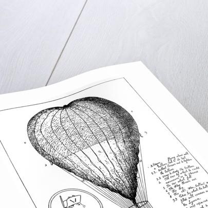 The Enterprizing Lunardi's Grand Air Ballon by Anonymous