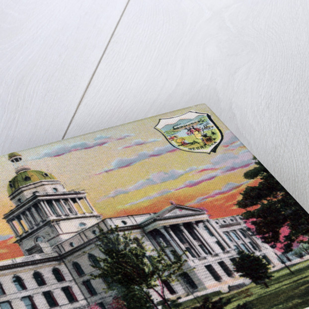 State Capital, Lincoln, Nebraska by Anonymous