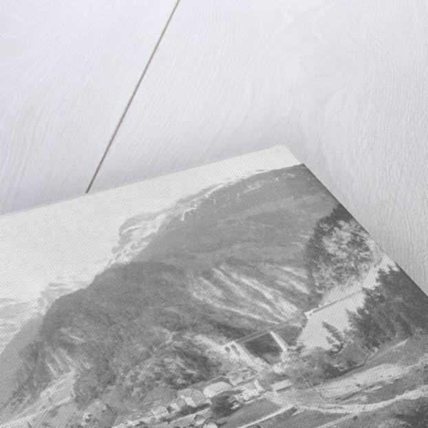St Gotthard Pass and Bridge, Switzerland by John L Stoddard