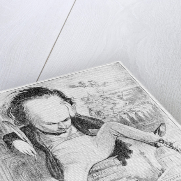 Victor Hugo by Benjamin