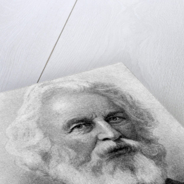 Henry W. Longfellow, New England Poet by Rischgitz Collection