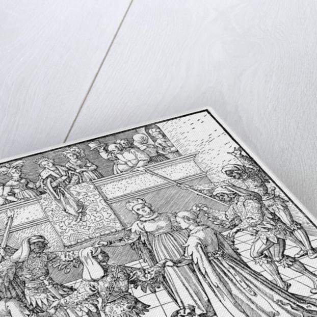 Dance by Torchlight, Augsburg by Albrecht Dürer