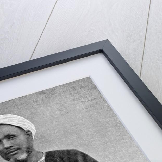 The Seyid, Mustapha el Idrisi, southern Arabia by Donald McLeish