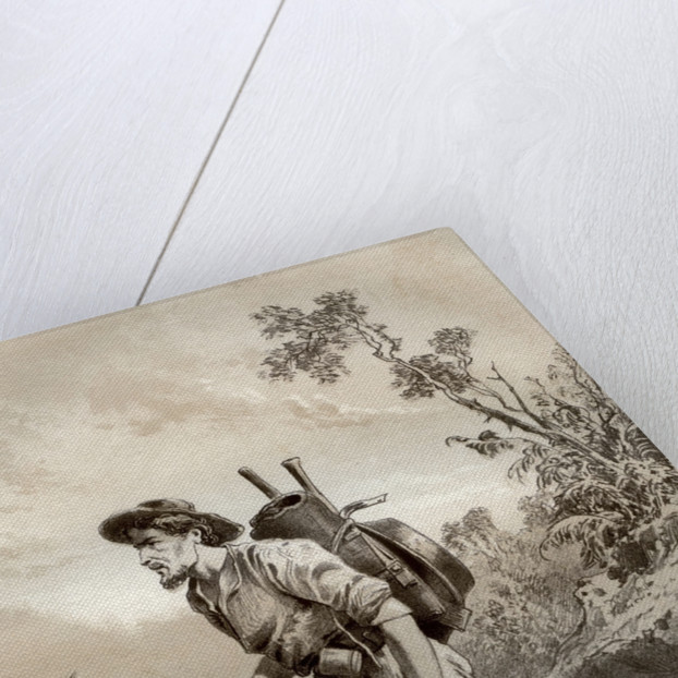 Digger on the tramp, Australia by McFarlane and Erskine