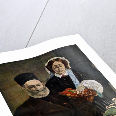 Portrait of Monsieur and Madame Auguste Manet by Edouard Manet