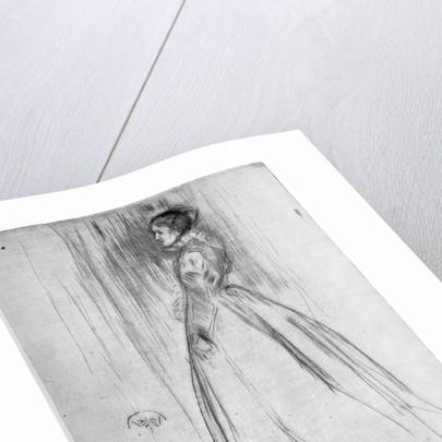 The Velvet Dress by James Abbott McNeill Whistler