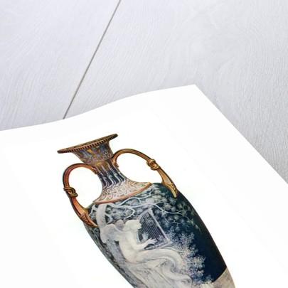 'The Siren', Minton Vase by Marc-Louis-Emmanuel Solon by Marc-Louis-Emmanuel Solon