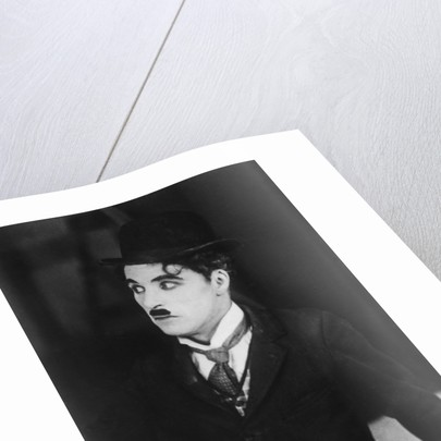 Charlie Chaplin (1889-1977), English/American actor and commedian by Anonymous