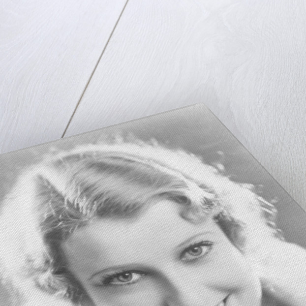 Jeanette MacDonald (1903-1965), American actress and singer by Anonymous