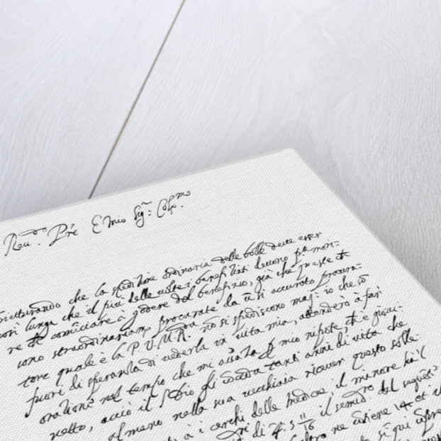 Letter by Galileo Galilei by Frederick George Netherclift