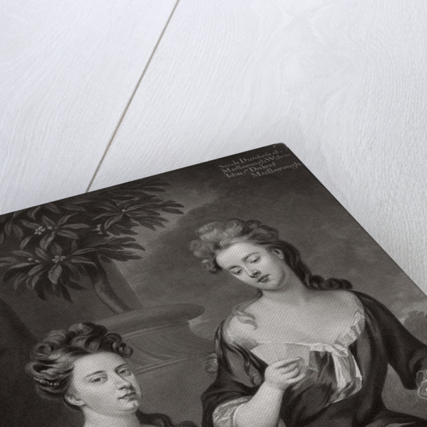 Sarah, Duchess of Marlborough, and Lady Fitzharding by Anonymous