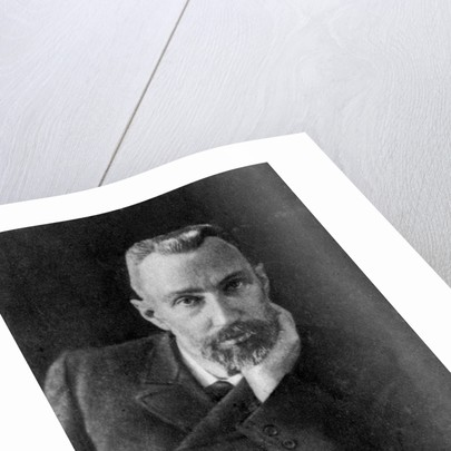 Pierre Curie, French chemist and physicist by Anonymous