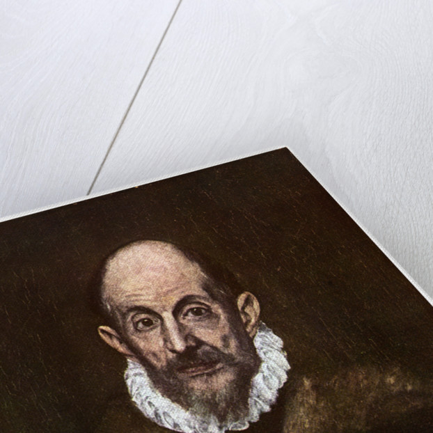 El Greco, Greek painter active in Spain by Anonymous