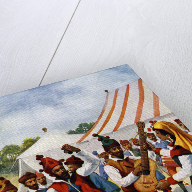 Spanish gypsies by Anonymous