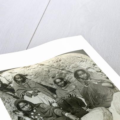 Native 'Bhujji' girls, River Sutlej, Himalayas, India by Underwood & Underwood