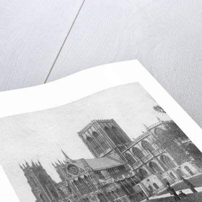 South-east view of York Minster, Yorkshire by Anonymous