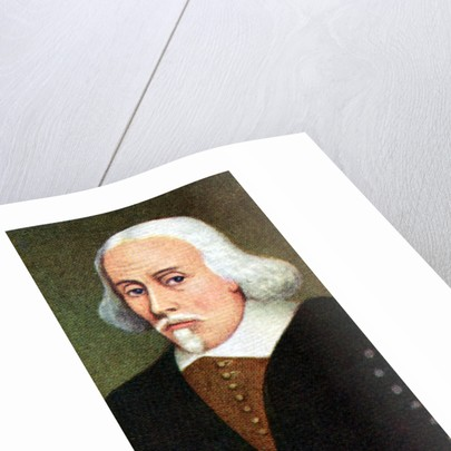 William Harvey, taken from a series of cigarette cards by Anonymous
