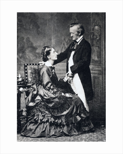 Richard and Cosima Wagner by Anonymous