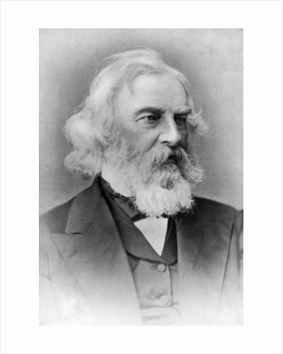 Henry Wadsworth Longfellow, American poet and teacher by Anonymous