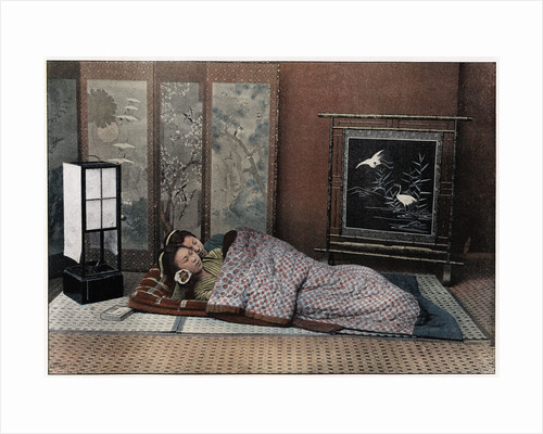 A Bedroom in Japan by Charles Gillot