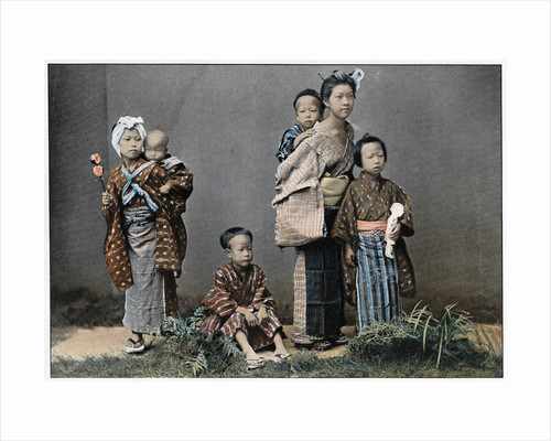 A Group of Children by Anonymous