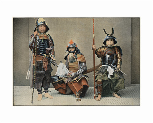 A Group of Samurai by Anonymous