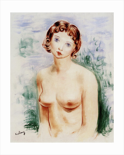 Female nude by Moise Kisling