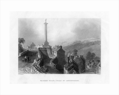 Walker's Pillar, Londonderry, Northern Ireland by R Wallis