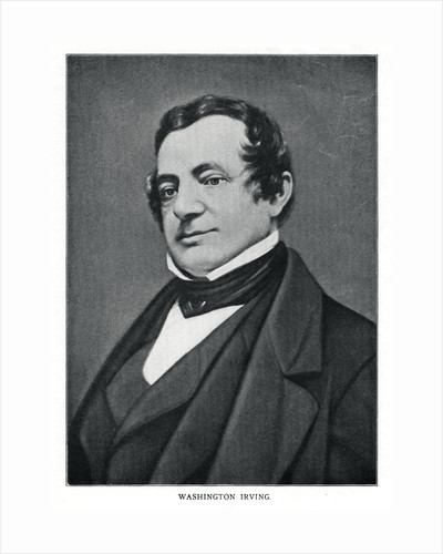 Washington Irving, American author by Anonymous