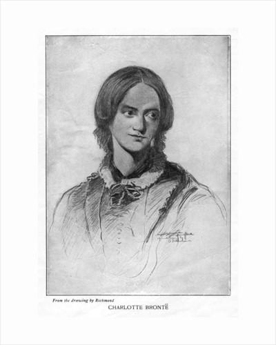 Charlotte Brontë, English novelist by Anonymous