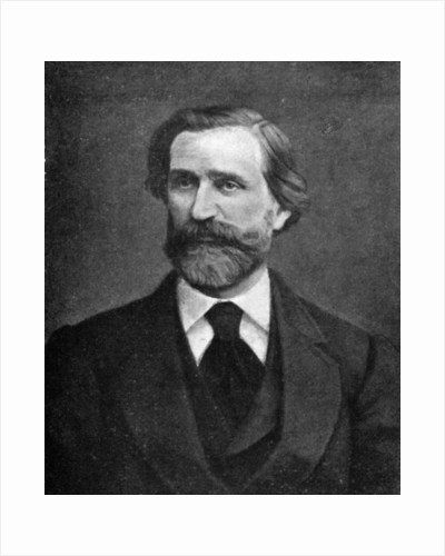 Giuseppe Verdi, Italian composer by Anonymous