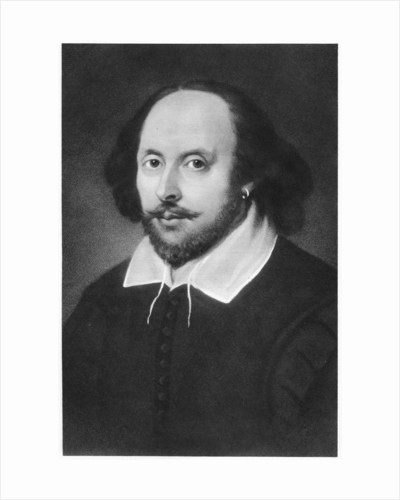 William Shakespeare, English playwright by Anonymous