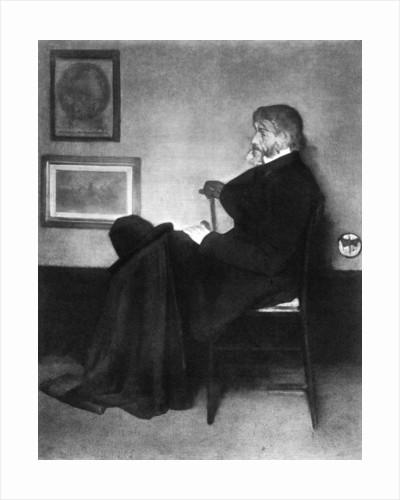Thomas Carlyle, Scottish essayist, satirist, and historian by James Abbott McNeill Whistler
