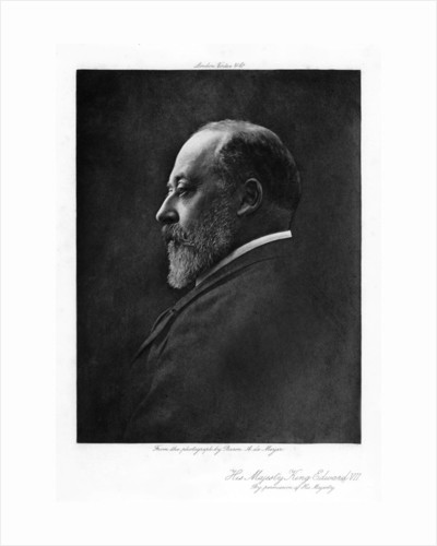 Edward VII, King of the United Kingdom of Great Britain and Ireland by Anonymous