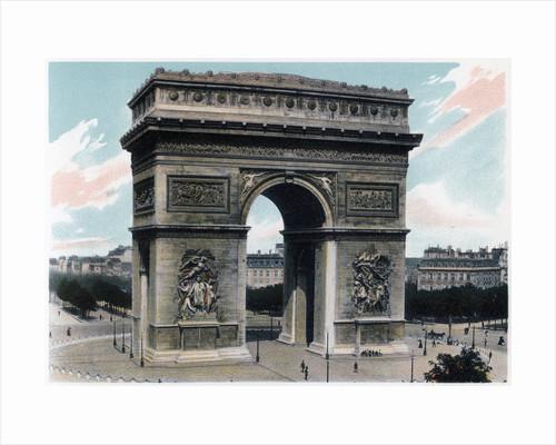 Arc de Triomphe, Paris by Anonymous