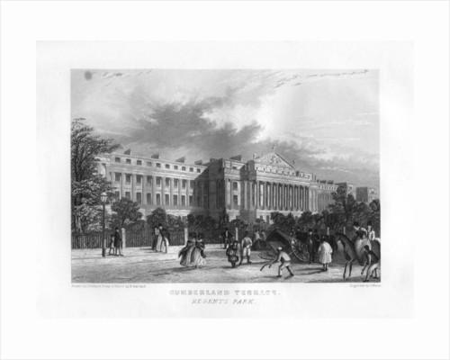Cumberland Terrace, Regent's Park, London by J Woods