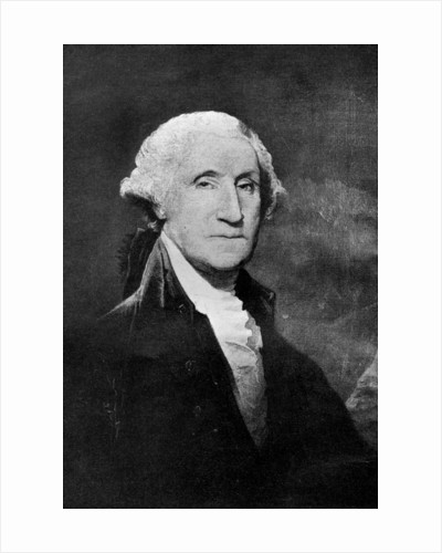 George Washington, first President of the United States by Gilbert Stuart