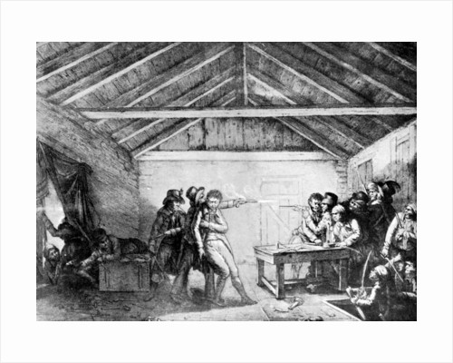The arrest of the Cato street conspirators, February 23 by Anonymous