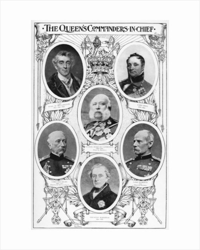 Queen Victoria's commanders in chief by Anonymous